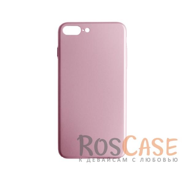 Пластиковая накладка soft-touch с защитой торцов Joyroom для Apple iPhone 7 plus (5.5) (Розовый)<br><br>Тип: Чехол<br>Бренд: Epik<br>Материал: Пластик