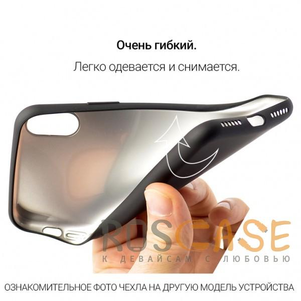 Изображение Черный J-Case THIN   Гибкий силиконовый чехол для Xiaomi Redmi 5