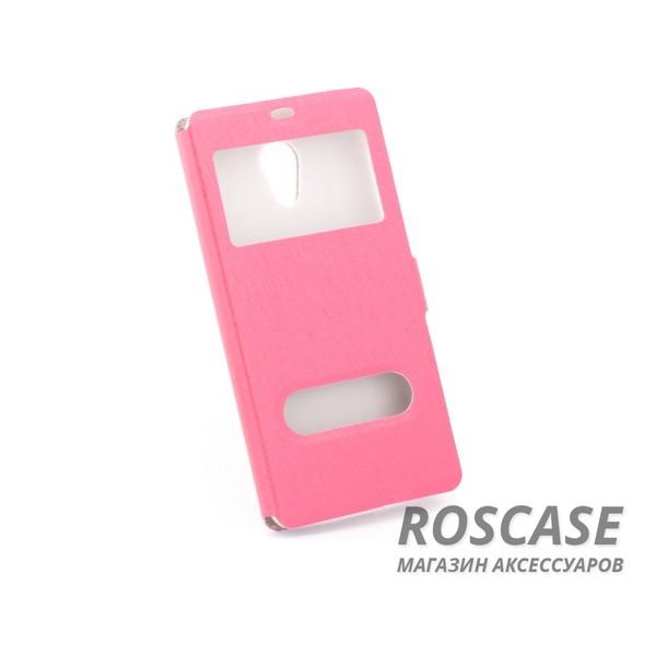 Чехол (книжка) с PC креплением для Meizu M2 / M2 mini (Розовый)Описание:разработан компанией&amp;nbsp;Epik;спроектирован для Meizu M2 / M2 mini;материалы: синтетическая кожа, поликарбонат;тип: чехол-книжка.&amp;nbsp;Особенности:имеются все функциональные вырезы;не скользит в руках;магнитная застежка;окошки в обложке;защита от ударов и падений;превращается в подставку.<br><br>Тип: Чехол<br>Бренд: Epik<br>Материал: Искусственная кожа
