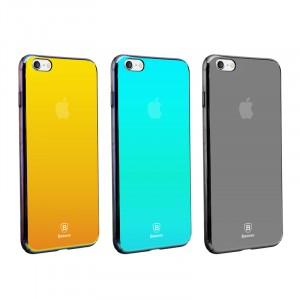 """Baseus Glass   Глянцевый чехол для Apple iPhone 6/6s plus (5.5"""") в зеркальной расцветке с переливом"""