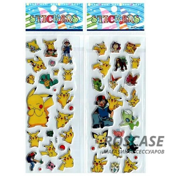 Фото Набор объемных наклеек Pokémon