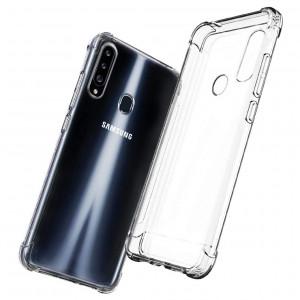 Противоударный силиконовый чехол  для Samsung Galaxy A20s
