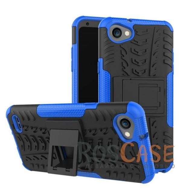 Противоударный двухслойный чехол Shield для LG Q6 / Q6a / Q6 Prime M700 с подставкой (Синий)Описание:совместим с LG Q6 / Q6a / Q6 Prime M700;удобная функция подставки;материал - поликарбонат, термополиуретан;тип - накладка;ударопрочная конструкция;предусмотрены все необходимые вырезы;рельефная фактура.<br><br>Тип: Чехол<br>Бренд: Epik<br>Материал: TPU