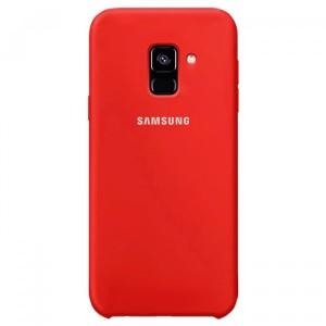 Силиконовый чехол для Samsung Galaxy A6 (2018) с покрытием soft touch