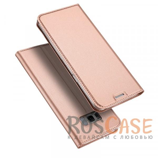 Классический чехол книжка с функцией подставки и картхолдером для Samsung G950 Galaxy S8 (Розовый)Описание:совместимость - Samsung G950 Galaxy S8;материалы - искусственная кожа, термополиуретан;тип - чехол-книжка;защита со всех сторон;функция подставки;функция Sleep Mode;внутреннее отделение для пластиковых карт;предусмотрены все функциональные вырезы.&amp;nbsp;&amp;nbsp;&amp;nbsp;<br><br>Тип: Чехол<br>Бренд: Epik<br>Материал: Искусственная кожа