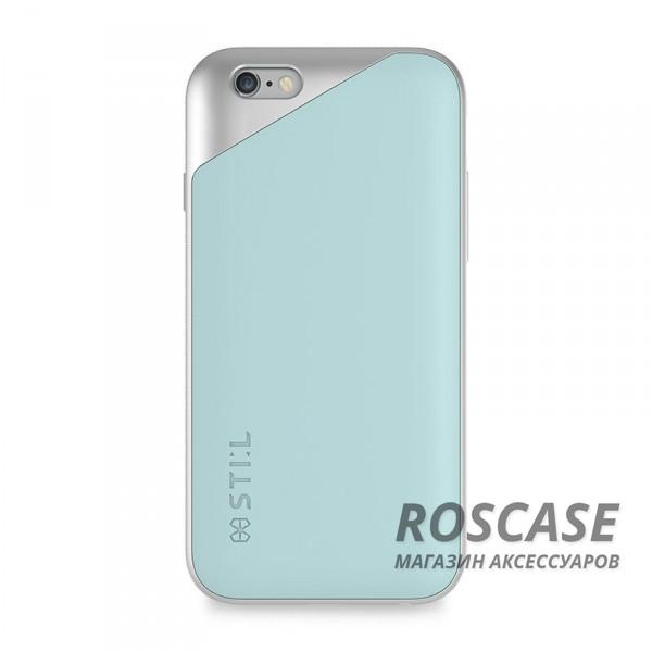 Изысканный пластиковый чехол STIL Masquerade с металлизированным защитным уголком вокруг камеры для Apple iPhone 6/6s (4.7) (Бирюзовый)Описание:создан компанией STIL;разработан с учетом особенностей&amp;nbsp;Apple iPhone 6/6s (4.7);материалы - термополиуретан, поликарбонат;тип - накладка.Особенности:неповторимый стиль - двухцветный дизайн;не скользит в руках - предусмотрены рельефные бортики;доступ ко всем функциям гаджета благодаря точным вырезам;защита от царапин и ударов;защита экрана благодаря выступающим бортикам;размеры - 144*73*11 мм, вес - 37 гр.<br><br>Тип: Чехол<br>Бренд: Stil<br>Материал: TPU