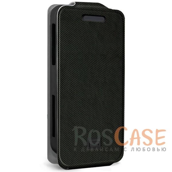 Универсальный чехол-флип Gresso Грант для смартфона 4.2-4.5 дюйма (Черный)<br><br>Тип: Чехол<br>Бренд: Gresso<br>Материал: Искусственная кожа