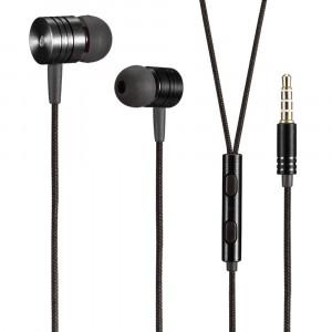 JX | Металлические наушники с плетеным проводом и пультом для Apple iPhone 11 Pro