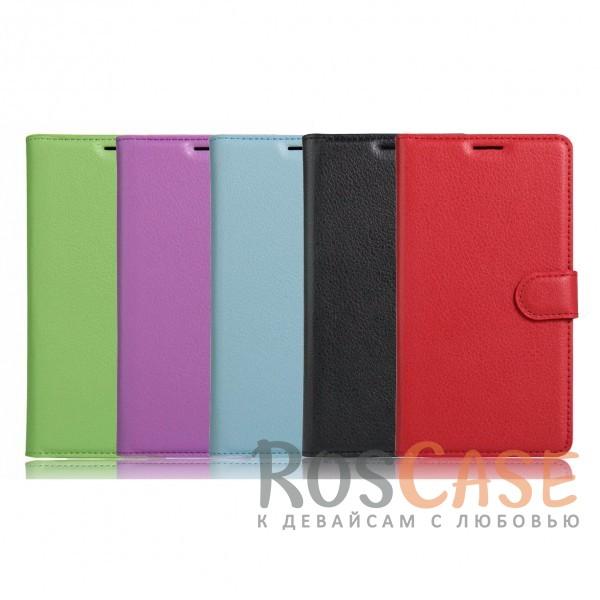 Чехол-кошелёк из экокожи с функцией подставки на магнитной застёжке для Xiaomi Redmi 4XОписание:материалы - термополиуретан, искусственная экокожа;совместимость - Xiaomi Redmi 4X;в наличии все необходимые вырезы;защита от ударов и царапин;функция подставки;магнитная застёжка;не скользит в руках;внешняя отделка из искусственной кожи;приподнятые бортики для защиты камеры.<br><br>Тип: Чехол<br>Бренд: Epik<br>Материал: Искусственная кожа
