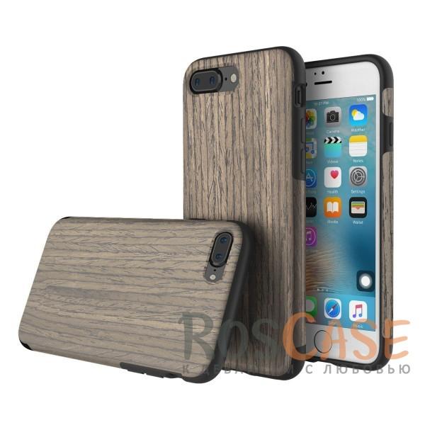 Чехол-накладка с оригинальным дизайном и деревянным покрытием для Apple iPhone 7 plus / 8 plus (5.5) (Black Rose)Описание:бренд Rock;подходит для Apple iPhone 7 plus / 8 plus (5.5);форм-фактор: накладка;материал: термополиуретан и натуральное дерево.Особенности:чехол выполняет защитную и декоративную функцию;предотвращает появление царапин или других повреждений корпуса телефона;фактура шероховатая;фиксация надежная;текстура приятная на ощупь;дизайн оригинальный.<br><br>Тип: Чехол<br>Бренд: ROCK<br>Материал: TPU