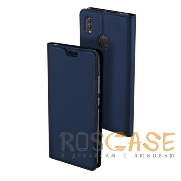 Фото Синий Dux Ducis | Чехол-книжка для Huawei Honor Note 10 с функцией подставки и картхолдером