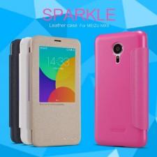 Nillkin Sparkle | Чехол-книжка с функцией Sleep Mode для Meizu MX5