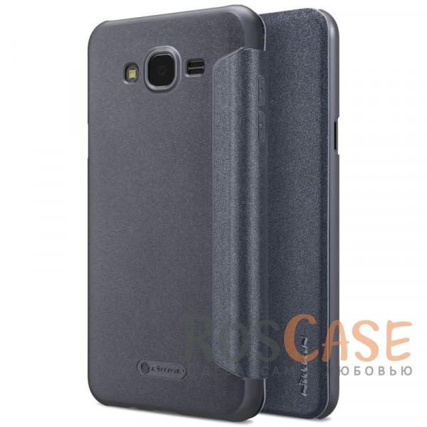 Кожаный чехол (книжка) для Samsung J701 Galaxy J7 Neo (Черный)Описание:бренд&amp;nbsp;Nillkin;спроектирован для Samsung J701 Galaxy J7 Neo;материалы: поликарбонат, искусственная кожа;блестящая поверхность;не скользит в руках;предусмотрены все необходимые вырезы;защита со всех сторон;тип: чехол-книжка.&amp;nbsp;<br><br>Тип: Чехол<br>Бренд: Nillkin<br>Материал: Искусственная кожа