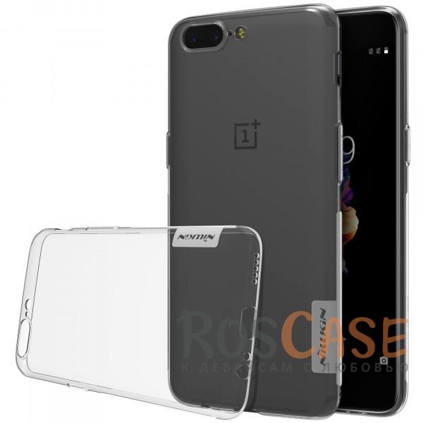 Мягкий прозрачный силиконовый чехол Nillkin Nature для OnePlus 5 (Бесцветный (прозрачный))Описание:производитель  -  бренд&amp;nbsp;Nillkin;совместим с OnePlus 5;материал  -  термополиуретан;тип  -  накладка.&amp;nbsp;Особенности:в наличии все вырезы;не скользит в руках;тонкий дизайн;защита от ударов и царапин;прозрачный.<br><br>Тип: Чехол<br>Бренд: Nillkin<br>Материал: TPU