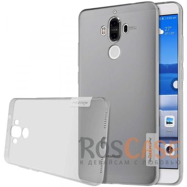 Мягкий прозрачный силиконовый чехол для Huawei Mate 9 (Серый (прозрачный))Описание:бренд:&amp;nbsp;Nillkin;совместимость: Huawei Mate 9;материал: термополиуретан;тип: накладка;ультратонкий дизайн;прозрачный корпус;не скользит в руках;защищает от механических повреждений.<br><br>Тип: Чехол<br>Бренд: Nillkin<br>Материал: TPU