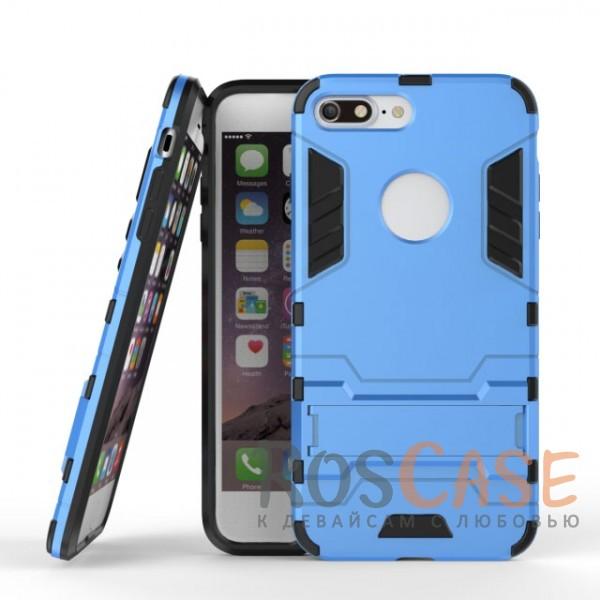 Ударопрочный чехол-подставка Transformer для Apple iPhone 7 plus (5.5) с мощной защитой корпуса (Синий / Navy)Описание:подходит для Apple iPhone 7 plus (5.5);материалы: термополиуретан, поликарбонат;формат: накладка.&amp;nbsp;Особенности:функциональные вырезы;функция подставки;двойная степень защиты;защита от механических повреждений;не скользит в руках.<br><br>Тип: Чехол<br>Бренд: Epik<br>Материал: TPU