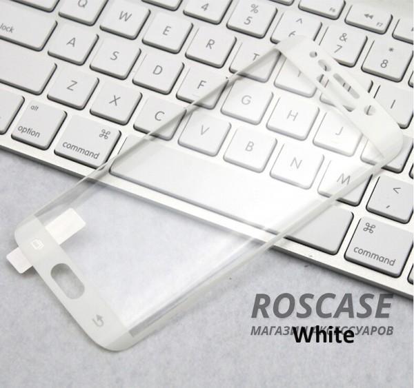 Защитное 3D стекло на весь экран (цветное) для Samsung G925F Galaxy S6 Edge с закругленными краями (Белый)Описание:компания&amp;nbsp;Epik;совместимо с Samsung G925F Galaxy S6 Edge;материал: закаленное стекло;тип: защитное стекло на экран.Особенности:полностью закрывает дисплей;закругленные 3D-грани;толщина - 0,26 мм;цветная окантовка;прочность 9H;покрытие анти-отпечатки;защита от ударов и царапин.<br><br>Тип: Защитное стекло<br>Бренд: Epik
