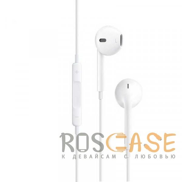 Фотография Белый HOCO M1 | Стерео наушники с микрофоном и кнопками управления громкостью
