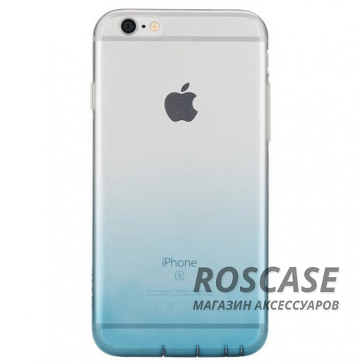 TPU чехол ROCK Iris series для Apple iPhone 6/6s plus (5.5) (Синий / Transparent Blue)Описание:производитель - Rock;материал  -  термополиуретан;поверхность  -  гладкая;форм-фактор  -  накладка;совместимость - Apple iPhone 6/6s plus (5.5)Особенности:прочный и износоустойчивый;не подвергается деформации.легко фиксируется;не скользит в руках.<br><br>Тип: Чехол<br>Бренд: ROCK<br>Материал: TPU