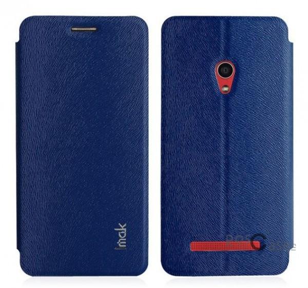 Кожаный чехол (книжка) IMAK Fun Series для Asus Zenfone 5 (A501CG) (Синий)Описание:бренд:&amp;nbsp;IMAK;совместим с Asus Zenfone 5&amp;nbsp;(A501CG);используемые материалы: поликарбонат, синтетическая кожа;форма чехла: книжка.&amp;nbsp;Особенности:поликарбонатный каркас;износоустойчивые прочные материалы;полный набор функциональных вырезов;текстурированная поверхность;тонкое исполнение;эргономичные свойства  -  подставка.<br><br>Тип: Чехол<br>Бренд: iMak<br>Материал: Искусственная кожа