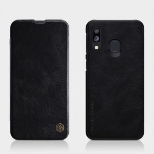 Nillkin Qin натур. кожа | Чехол-книжка для Samsung A405F Galaxy A40