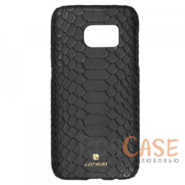 Чехол Just Must King Collection для Samsung G930F Galaxy S7 (Черный)Описание:бренд -&amp;nbsp;Just Must;материал - искусственная кожа;совместимость - Samsung G930F Galaxy S7;тип - накладка.<br><br>Тип: Чехол<br>Бренд: Just Must<br>Материал: Искусственная кожа