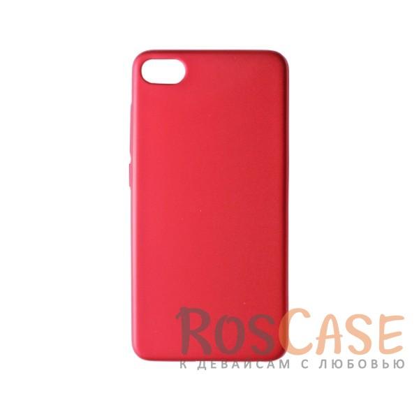 Пластиковая накладка soft-touch с защитой торцов Joyroom для Meizu U10 (Красный)<br><br>Тип: Чехол<br>Бренд: Epik<br>Материал: Пластик