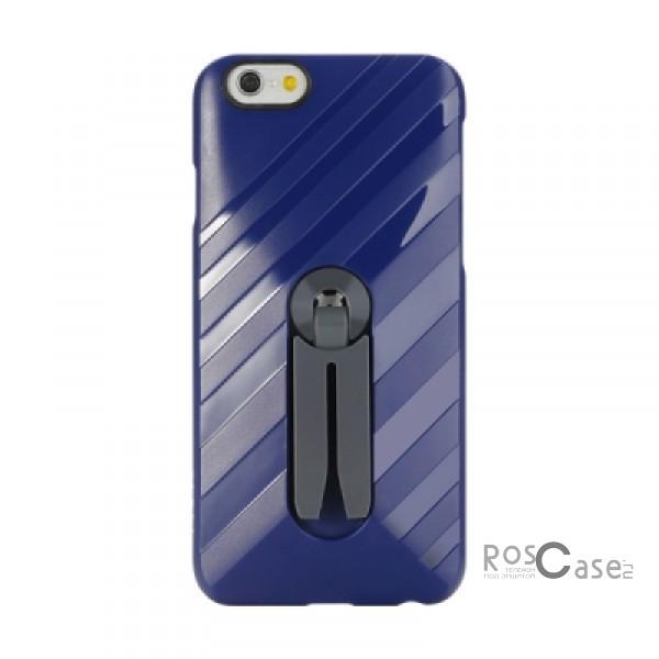 Фото Синий / Navy Blue Rock Car Mount | Чехол для Apple iPhone 6/6s с функцией подставки + автодержатель