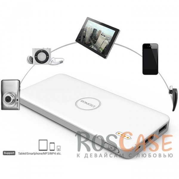 фото дополнительный внешний аккумулятор ROMOSS Polymos 5 (PB05-102) (5000mAh)
