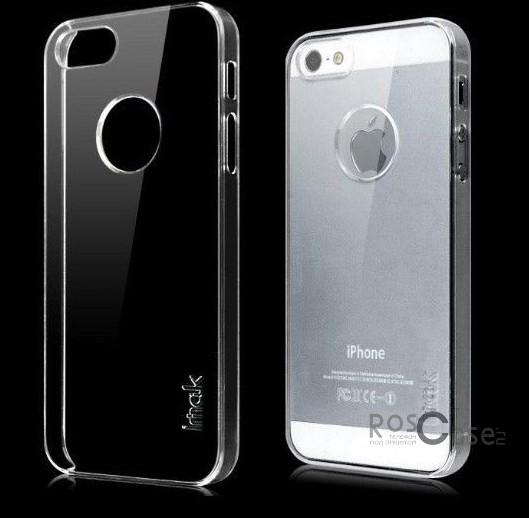 Пластиковая накладка IMAK Crystal Series для Apple iPhone 5/5S/SE (Прозрачный / Transparent)Описание:Изготовлена компанией&amp;nbsp;IMAK;Спроектирована персонально для Apple iPhone 5/5S/5SE;Материал: сверхгибкий пластик;Форма: накладка.Особенности:Исключается появление царапин и возникновение потертостей;Восхитительная амортизация при любом ударе;Глянцевая прозрачная поверхность;Не подвержена деформации;Привлекательный дизайн.<br><br>Тип: Чехол<br>Бренд: iMak<br>Материал: Пластик