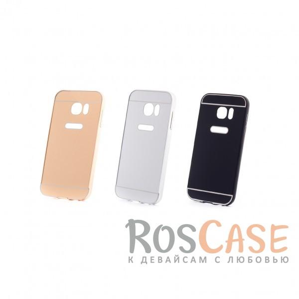 Металлический бампер с пластиковой вставкой для Samsung G930F Galaxy S7Описание:сделан для Samsung G930F Galaxy S7;материалы: металл, пластик;тип чехла: бампер со вставкой.Особенности:металлическая окантовка;эргономичный дизайн;защита от механических повреждений;вставка из пластика;предусмотрены все функциональные вырезы;прочно фиксируется.<br><br>Тип: Чехол<br>Бренд: Epik<br>Материал: Металл