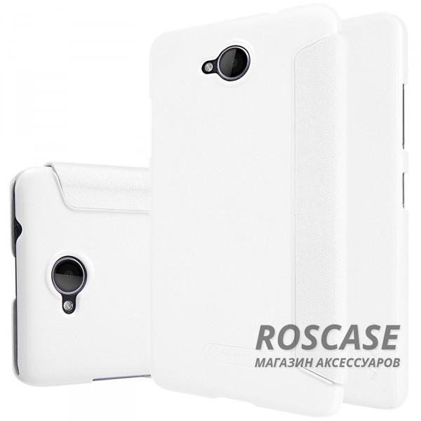 Кожаный чехол (книжка) Nillkin Sparkle Series для Microsoft Lumia 650 (Белый)Описание:бренд&amp;nbsp;Nillkin;изготовлен специально для Microsoft Lumia 650;материал: искусственная кожа, поликарбонат;тип: чехол-книжка.Особенности:не скользит в руках;защита от механических повреждений;не выгорает;блестящая поверхность;надежная фиксация.<br><br>Тип: Чехол<br>Бренд: Nillkin<br>Материал: Искусственная кожа