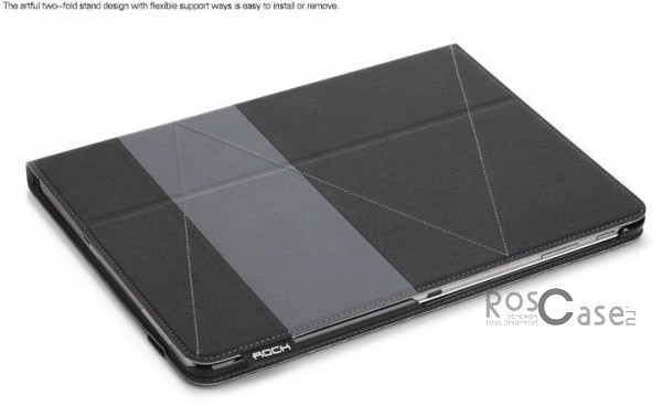 фото Черный / Black Чехол (книжка) Rock Shuttle Series для Samsung Galaxy Tab Pro 10.1