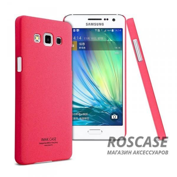 Пластиковая накладка IMAK Cowboy series для Samsung A500H / A500F Galaxy A5 (+ пленка) (Розовый)Описание:бренд:&amp;nbsp;IMAK;совместим с Samsung A500H / A500F Galaxy A5;материал: поликарбонат;форма: накладка.&amp;nbsp;Особенности:тонкий дизайн;не скользит в руках;песочная фактура;не выгорает;все вырезы в наличии;пленка в комплекте;защита от механических повреждений.<br><br>Тип: Чехол<br>Бренд: iMak<br>Материал: Поликарбонат