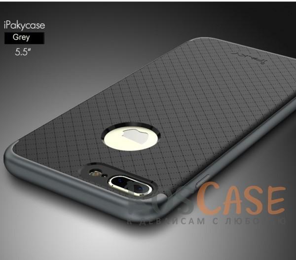 Чехол iPaky TPU+PC для Apple iPhone 7 plus (5.5) (Черный / Серый)Описание:производитель - iPaky;совместим с Apple iPhone 7 plus (5.5);материал: термополиуретан, поликарбонат;форма: накладка на заднюю панель.Особенности:эластичный;рельефная поверхность;прочная окантовка;ультратонкий;надежная фиксация.<br><br>Тип: Чехол<br>Бренд: Epik<br>Материал: TPU