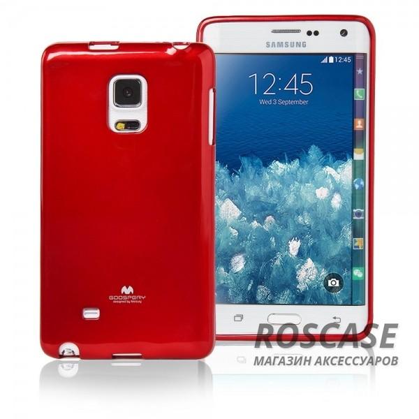 TPU чехол Mercury Jelly Color series для Samsung Galaxy Note Edge N915FОписание:производство  -  Mercury;совместимость - Samsung Galaxy Note Edge N915F;форм-фактор чехла  -  накладка на заднюю панель смартфона;материал  -  ТПУ (термополиуретан);Особенности:вырезы для доступа к элементам интерфейса;прочное сцепление с любой поверхностью;ультратонкий;глянцевый.<br><br>Тип: Чехол<br>Бренд: Mercury<br>Материал: TPU