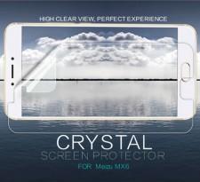 Nillkin Crystal   Прозрачная защитная пленка для Meizu MX6