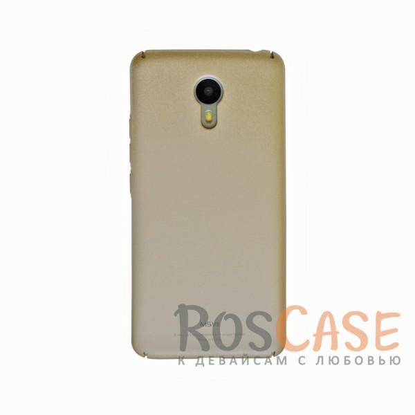 Фотография Золотой Msvii Quicksand | Тонкий чехол для Meizu M3 Note с матовым покрытием