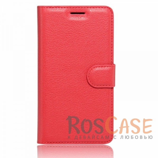 Кожаный чехол (книжка) Wallet с визитницей для Meizu M3 Note (Красный)Описание:разработан для Meizu M3 Note;материалы  -  искусственная кожа, термополиуретан;форма  -  чехол-книжка.&amp;nbsp;Особенности:гладкая поверхность;предусмотрены все функциональные вырезы;кармашки для визиток/кредитных карт/купюр;магнитная застежка;защита от механических повреждений;трансформируется в подставку.<br><br>Тип: Чехол<br>Бренд: Epik<br>Материал: Искусственная кожа