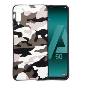 TPU чехол камуфляж  для Samsung Galaxy A50 (A505F)
