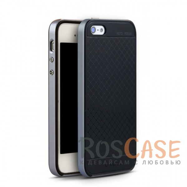 Фото Черный / Серый iPaky Hybrid   Противоударный чехол для Apple iPhone 5/5S/SE