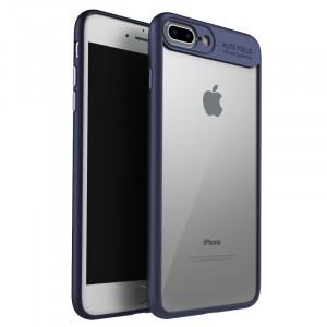 "iPaky Hard Original | Прозрачный чехол для Apple iPhone 7 Plus (5.5"") с защитными бортиками"