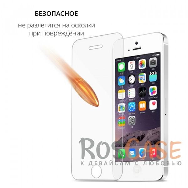 Изображение Прозрачное защитное стекло с закругленными краями и олеофобным покрытием для Apple iPhone 5/5S/SE