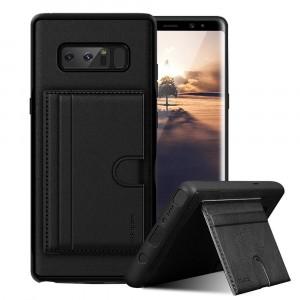 ROCK Cana | Чехол для Samsung Galaxy Note 8 с внешним карманом для визиток