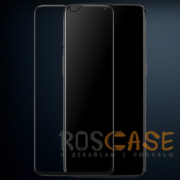 Mocolo (full glue) | Защитное стекло для OnePlus 6T с полной проклейкой на весь экран (Черный)
