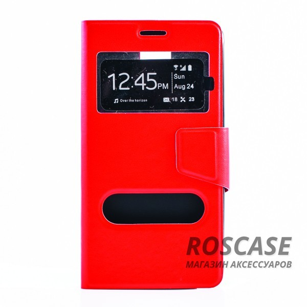 Чехол (книжка) с TPU креплением для Samsung N910H Galaxy Note 4 (Красный)Описание:бренд&amp;nbsp;Epik;разработан для Samsung N910H Galaxy Note 4;материал: искусственная кожа;тип: чехол-книжка.&amp;nbsp;Особенности:имеются функциональные вырезы;магнитная застежка;защита от ударов и падений;окошки в обложке;ответ на вызов через обложку;трансформируется в подставку;не скользит в руках.<br><br>Тип: Чехол<br>Бренд: Epik<br>Материал: Искусственная кожа