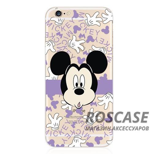 Тонкий силиконовый чехол с принтом Disney для Apple iPhone 6/6s (4.7) (Mickey Mouse)Описание:материал изделия: силикон;поверхность: фактурная;форм-фактор: накладка;совместимость: смартфон Apple iPhone 6/6s (4.7).Особенности:оригинальный дизайн;высокий уровень прочности и износостойкости;обладает хорошей гибкостью и эластичностью;не подвергается деформации.<br><br>Тип: Чехол<br>Бренд: Epik<br>Материал: TPU