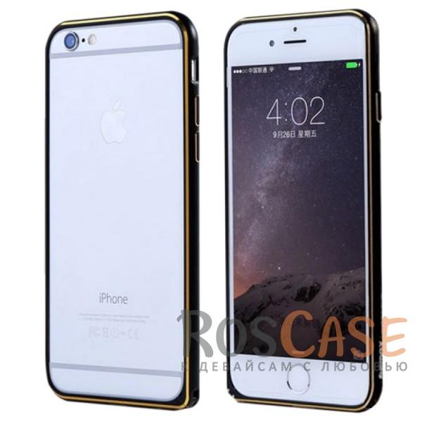 Металлический бампер Remax (защелка) для Apple iPhone 6/6s (4.7) (Черный)Описание:производитель  - &amp;nbsp;Remax;совместимость  -  Apple iPhone 6/6s (4.7);материал  -  металл;тип  -  бампер.&amp;nbsp;Особенности:имеет все нужные вырезы;тонкий дизайн;не деформируется;надежное крепление;защита боковых кнопок.<br><br>Тип: Бампер<br>Бренд: Remax