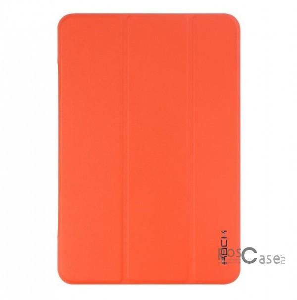 Чехол (книжка) Rock Touch series для Apple IPAD mini (RETINA)/Apple IPAD mini 3 (Оранжевый / Orange)Описание:Изготовлен компанией&amp;nbsp;ROCK;Спроектирован персонально для Apple IPAD mini (RETINA)/Apple IPAD mini 3;Материал: искусственная высококачественная кожа;Форма: чехол в виде книжки.Особенности:Исключается появление царапин и возникновение потертостей;Восхитительная амортизация при любом ударе;Матовая поверхность;Не подвержен деформации;Функция Sleep mode;Трансформируется в подставку;Непритязателен в уходе.<br><br>Тип: Чехол<br>Бренд: ROCK<br>Материал: Искусственная кожа