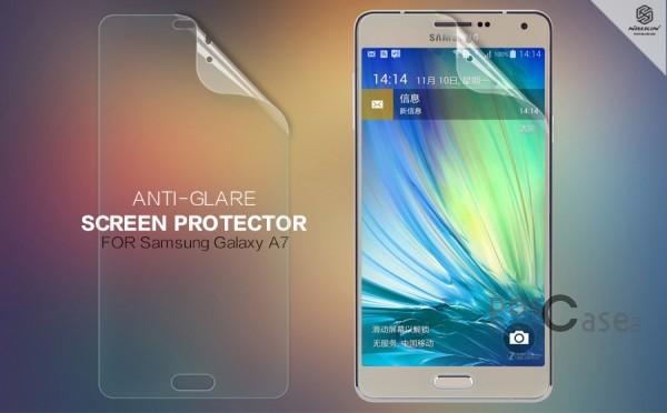 Защитная пленка Nillkin для Samsung A700H / A700F Galaxy A7 (Матовая)Описание:бренд:&amp;nbsp;Nillkin;совместима с Samsung A700H / A700F Galaxy A7;материал: полимер;тип: матовая.&amp;nbsp;Особенности:все необходимые функциональные вырезы;антибликовое покрытие;не влияет на чувствительность сенсора;легко очищается;не бликует на солнце.<br><br>Тип: Защитная пленка<br>Бренд: Nillkin